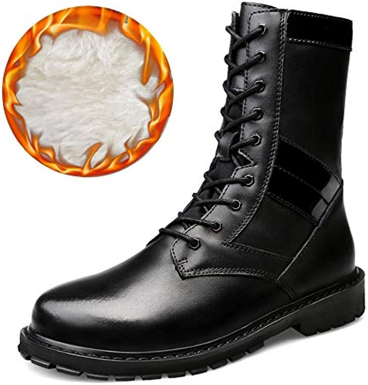 SRY-scarpe, Stivali Stivali Stivali Uomo, Nero (Warm nero), 40   Materiali Di Altissima Qualità  5637ee