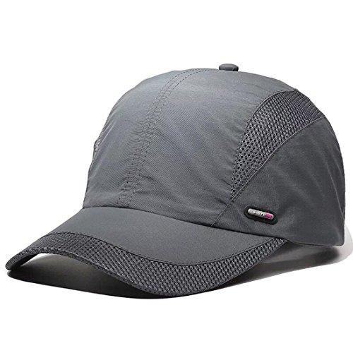 LAOWWO Baseball Cap Hat, Quick Dry Slim Running Cap Golf Sports Sun Cap for Men Women