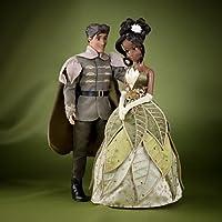 Disney Märchen-Designer Kollektion - Tiana und Prinz Naveen Puppenset - limitierter Edition - Mit Echtheitszertifikat