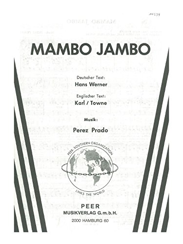 Perez Prado: Mambo Jambo. Sheet Music for Piano & Vocal
