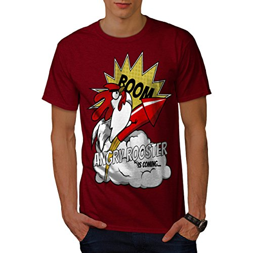 happy-new-year-rooster-is-coming-men-new-red-l-t-shirt-wellcoda