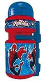 Spider-Man 35685–Trinkflasche Cartoons Spider-Man mit Flaschenhalter