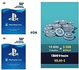 PSN Guthaben für Fortnite - 10.000 V-Bucks + 3.500 extra V-Bucks - 13.500 V-Bucks DLC | PS4 Download Code - österreichisches Konto