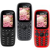 GLX W22 Pack Of 3 Dual Sim Basic Feature Mobile Phone (Grey+Black+Red)