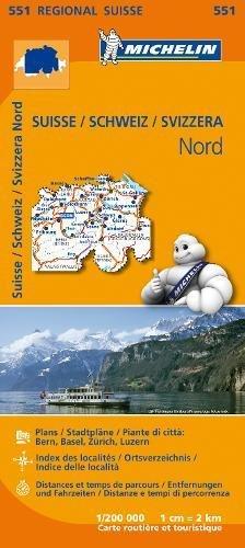 Mapa Regional Suisse Nord/ Schweiz Nord/ Svizzera Nord (Carte regionali)