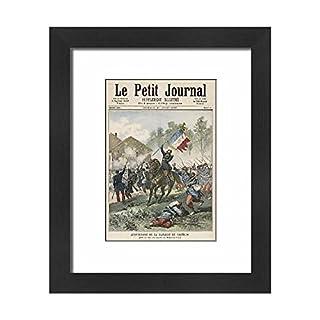 Media Storehouse Framed 10X8 Print Of Battle Of Solferino (624697)