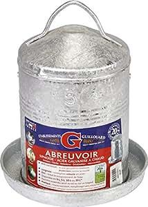 Abreuvoir galvanisé àchaud Guillouard - 5 l