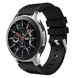 XIHAMA orologio per Samsung Galaxy (42mm 46mm) fasce, silicone fitness sport sostituzione cinturino da polso braccialetto smart Watch di