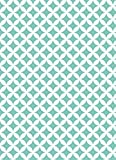 Klebefolie Rauten Elliot grün weiß - Möbelfolie Dekorfolie 45 x 200 cm - Selbstklebefolie bunt - selbstklebende Folie Vintage Retro