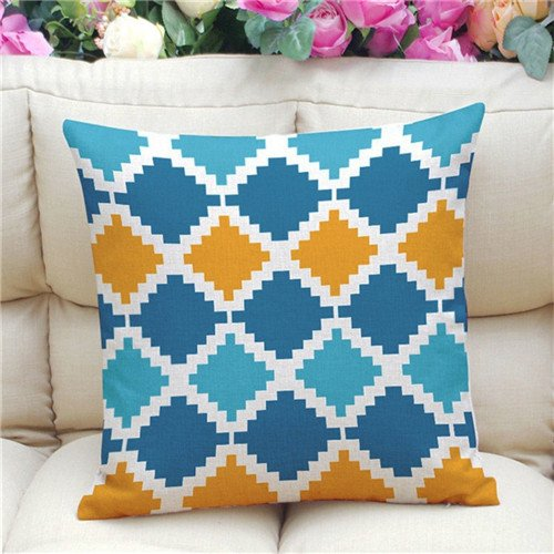 New Nordic style Striped Plaid geometry Cushion without inner Home Decor Sofa Chair Seat Decorative Throw Pillow Almofada cojines As Photo 45X45 CM