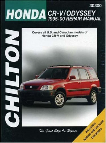honda-crv-and-odyssey-1995-00-chilton-total-car-care-series-manuals-by-chilton-2000-06-30
