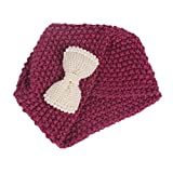 Best Accessories For Newborn Girls - Voberry Baby-Girl's Knitting Hat Beanie Cap Toddler Hats Review