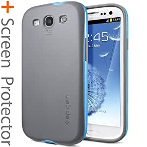 Spigen Neo Hybrid Lumi Coque pour Samsung Galaxy S3 Bleu