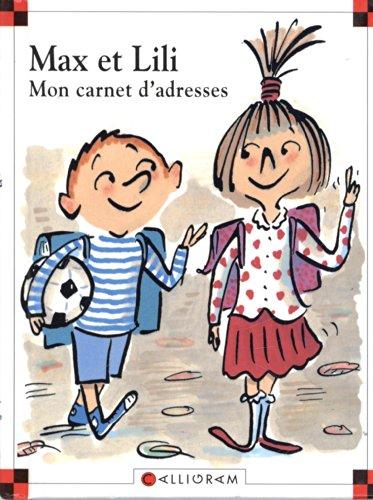 Carnet d'adresse Max et Lili