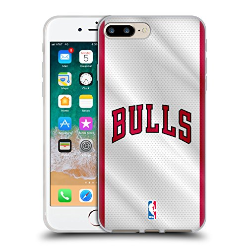 Ufficiale NBA Camouflage Digitale Chicago Bulls Cover Morbida In Gel Per Apple iPhone 6 / 6s Maglia