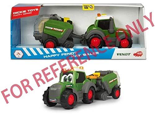 Dickie Toys 203815001 203815001-Happy Fendt Hay Baler, grün