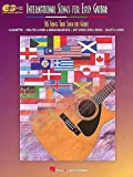 International Songs For Easy Guitar - 36 Songs That Span The Globe. Partitions pour Tablature Guitare(Symboles d'Accords)