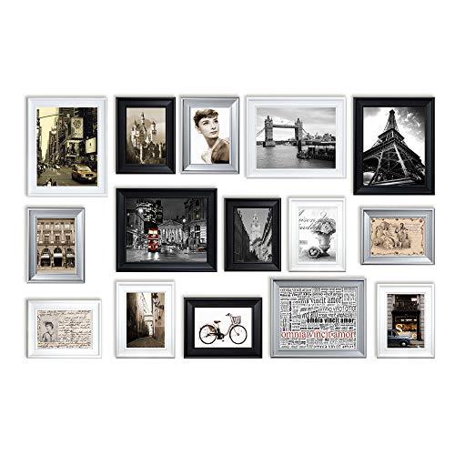 Conjunto de Marcos de Fotos con RD15 Imágenes