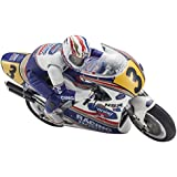 Kyosho RC Moto Honda NSR 500 1991 Kit Hanging On Racer