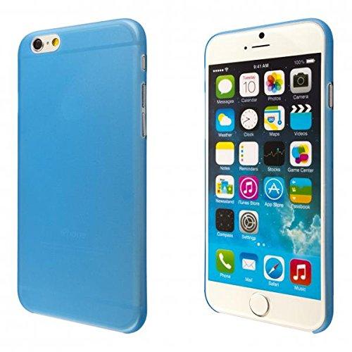ECENCE APPLE IPHONE 6+ 6S+ PLUS (5,5) COQUE DE PROTECTION HOUSSE PLAT SLIM MINCE FACILEMENT NOIR 41020401 Bleu