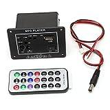 GROOMY 20W Haute Puissance DC 12V Bluetooth Voiture Subwoofer Hi-FI Conseil amplificateur TF USB + télécommande