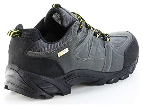 ConWay Outdoor-Trekking-Wanderschuhe Grau Tex-Membrane Herren Schuhe Sentis Grau