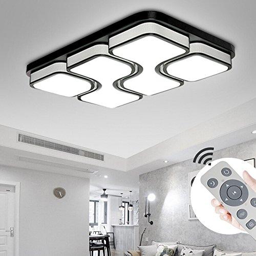 MYHOO 78W LED Regulable Luz techo Diseño moda moderna