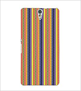 PrintDhaba Pattern D-5128 Back Case Cover for SONY XPERIA C5 ULTRA (Multi-Coloured)