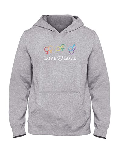aba79e27ed4 Green Turtle T-Shirts Love is Love - Gay Pride - Rainbow Flag LGBT  Sweatshirt