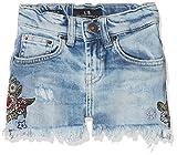 LTB Jeans Mädchen Shorts Layla G, Blau (Delta Wash 50689), 128