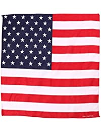 Bandana American Flag USA Head/Neck Scarf