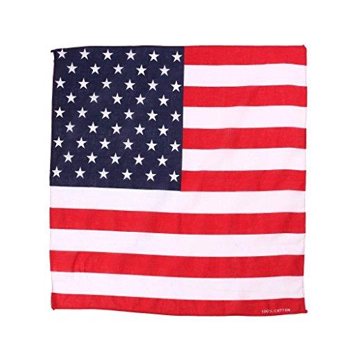 Preisvergleich Produktbild Halstuch Pavillon Amerikanische Flagge USA