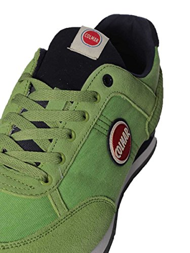 Colmar TRAVIS COLORS P/E Sneakers Homme 007Green/Nav.
