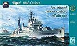 Modellino Nave da guerra HMS cruiser Tiger Russian Navy Battleship Scala 1: 415