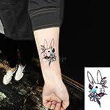 tzxdbh 5pcs Tatouage Autocollants de Tatouage imperméable Machine à tatouer Noir...