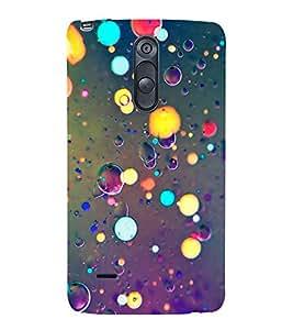 Light and Bubbles 3D Hard Polycarbonate Designer Back Case Cover for LG G3 Stylus :: LG G3 Stylus D690N :: LG G3 Stylus D690
