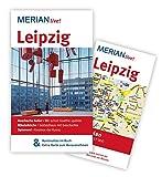 Leipzig: MERIAN live! - Mit Kartenatlas im Buch und Extra-Karte zum Herausnehmen