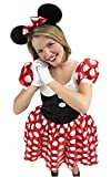 Rubie's Official Ladies Disney Minnie Mouse, Adult Costume - Small