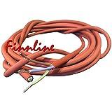 Finn Line I especial resistente al calor Cable de silicona de 5x 2,5mm² o 3x 1,5mm² I para la conexión de estufas de sauna y sauna Controles I Sauna accesorios I shif