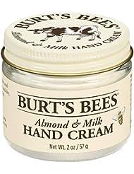 Burt's Bees 100% Natürlich Handcreme, Mandel und Milch mit Vitamin E, Handpflege für tockene Hände, 1er Pack x 57 g