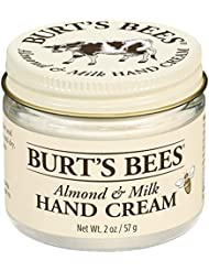 Burt's Bees 99.9 Percent Natural Moisturising Almond and Milk Hand Cream Jar, 57 g