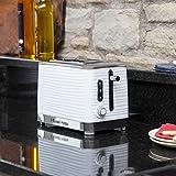 Russell Hobbs 24370-56 Toaster Inspire White, Lift and Look Funktion, bis zu 6 einstellbare Bräunungsstufen, extra breite Toastschlitze, Brötchenaufsatz, weiss - 6