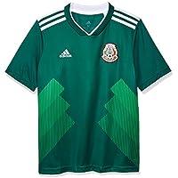 adidas México Camiseta de Equipación, Niños, Verde (veruni/Blanco), ...