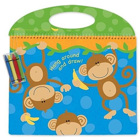 Stephen Joseph Monkey Doodle Pad