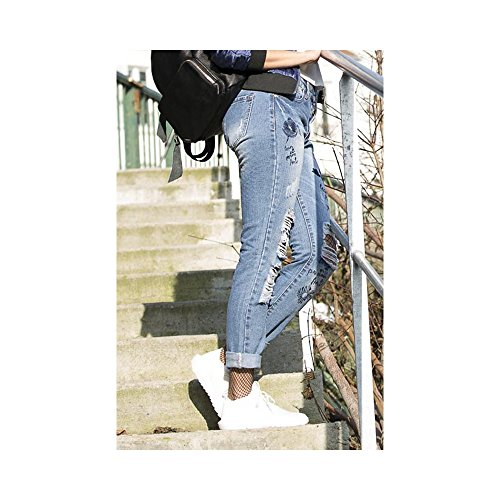Ideal Shoes -  Jeans  - Donna Blu