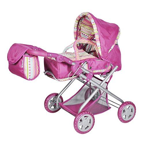 KNORRTOYS.COM 61838 Kyra - Cochecito de muñecas en Color Rosa