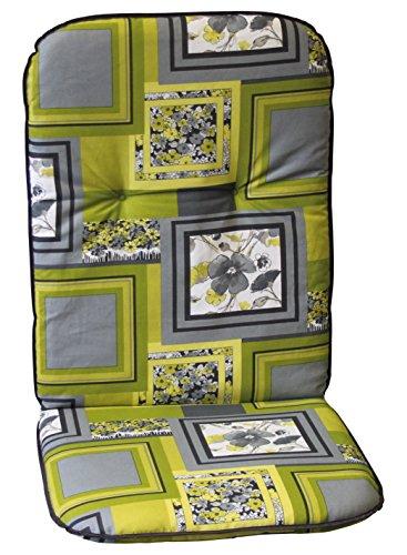 Gartenliegenauflage 190 x 60 x 5,5 cm, Auflage für Gartenliege, Liegenauflage