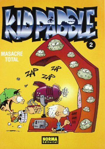 Kid Paddle 2 Masacre total / Carnage Total Cover Image