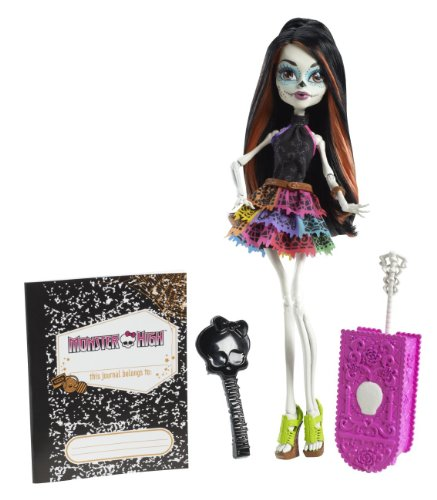 Y7656 - Scaris Deluxe Skelita Calaveras, Puppe (Monster High Skelita Puppe)