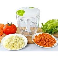 Appetit Gourmet Hachoir Legumes Hachoir Manuel 5 Lames Inoxydables Large Capacité 900ML pour Couper Viande, Oignon…